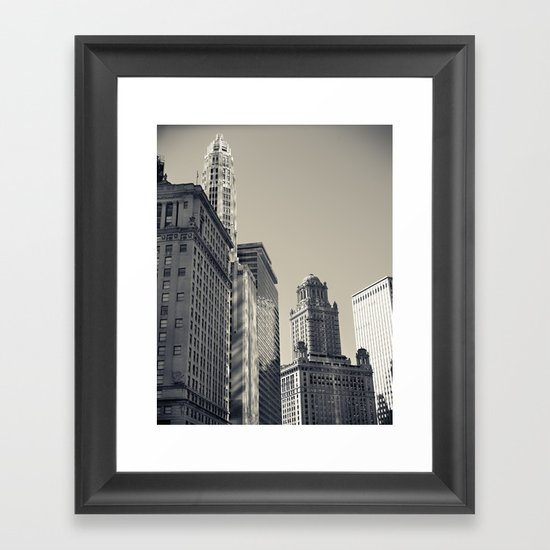 Chicago IV Framed Art Print