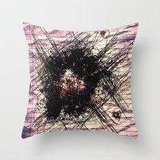 A Bad Romance Doodle Throw Pillow