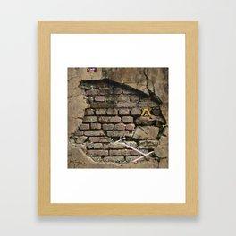 Live lemmings live  Framed Art Print