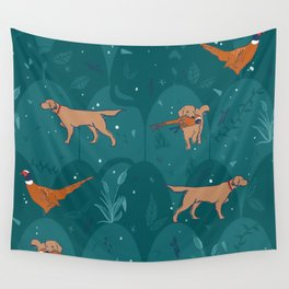 bird dogs Wall Tapestry