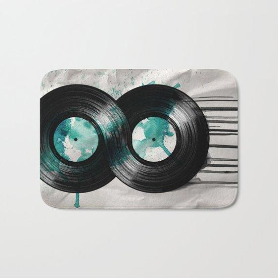 infinity vinyl Bath Mat