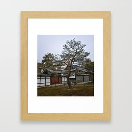 Golden Pavilion in Kyoto, Japan Framed Art Print