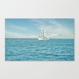 Shrimp boat 3 Canvas Print