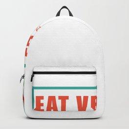 Vegetarian Vegan Gift Vegetarian Vegetables Backpack