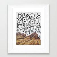 oscar wilde Framed Art Prints featuring oscar wilde said that. by darynberry