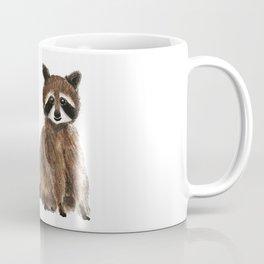 baby raccoon watercolor Coffee Mug