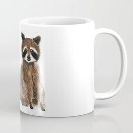 baby raccoon watercolor Coffee Mug
