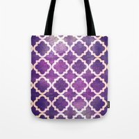 morocco Tote Bags featuring Morocco by Raluca Ag