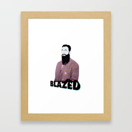 BLAZED Framed Art Print