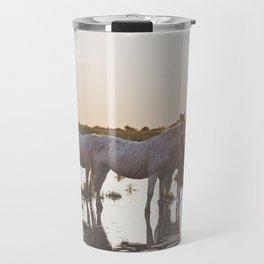 Camargue Horses VI Travel Mug