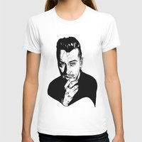 sam smith T-shirts featuring Sam Smith by Giorgia Ruggeri