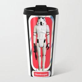 Stormtrooper : Vintage Kenner action figure Smaller Size Travel Mug
