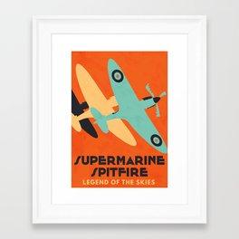 Supermarine Spitfire Framed Art Print