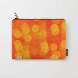 Orange Disco Fever Carry-All Pouch