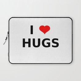 I LOVE HUGS Laptop Sleeve