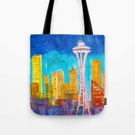 Expression Seattle Tote Bag