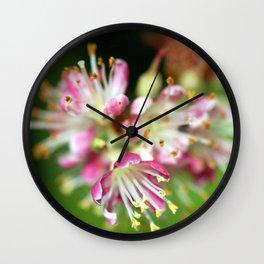 Bursting With Life Wall Clock