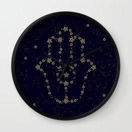 Hamsa Constellation Wall Clock