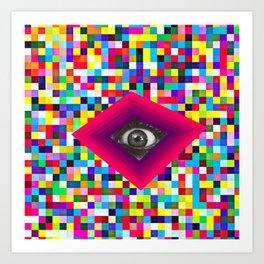 colorbomb Art Print