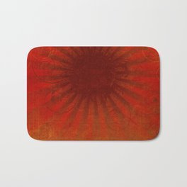 Dark Sun Bath Mat