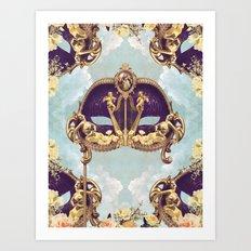 Floral Extravagance Art Print