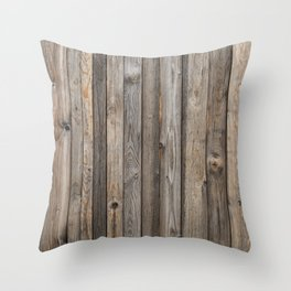 Boards Throw Pillow