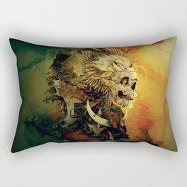 Skull Lord III Rectangular Pillow