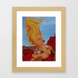 Pele Framed Art Print