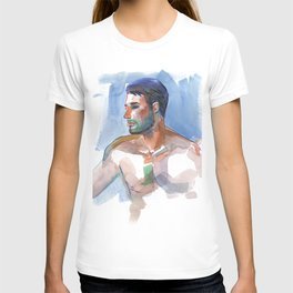 MATT, Semi-Nude Male by Frank-Joseph T-shirt
