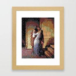 4kpx-kiss.gif Framed Art Print