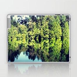 Reflection on Fragrance lake in Northern Washington Laptop & iPad Skin