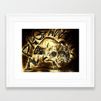 pagan Framed Art Prints featuring Pagan Pan by Shane R. Murphy