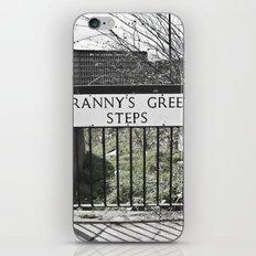 Granny's Green Steps iPhone & iPod Skin