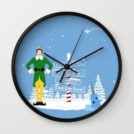 Buddy the Elf signs and Mr. Narwhal Wall Clock