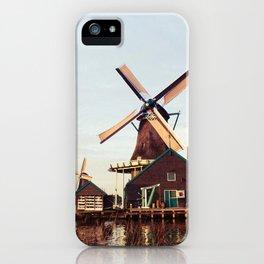 Windmill Netherland iPhone Case