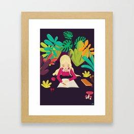 Writing Framed Art Print