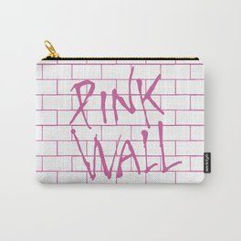 """ Pink Wall"" poster Carry-All Pouch"