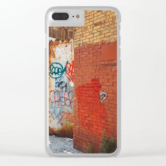 Greenpoint Graffiti III Clear iPhone Case