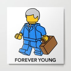 Forever Young Metal Print
