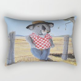 Aussie Koala Rectangular Pillow