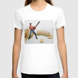 Chainsaw Banana Man T-shirt