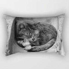 Peaceful Asleep Rectangular Pillow