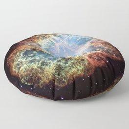 The Crab Nebula Floor Pillow