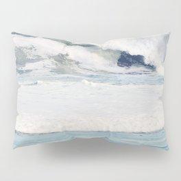 Falling Ocean Waves Pillow Sham