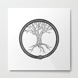 Yggdrasil Metal Print