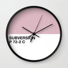 subversion Wall Clock