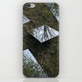 Below & Above iPhone Skin