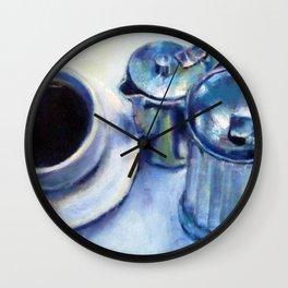 Coffee, Cream & Sugar Wall Clock