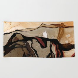 Red Planet Beach Towel
