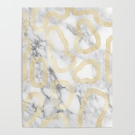 Marble Gold Session III-X Poster